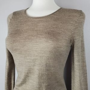 Extra Fine Merino Wool Light Sweater SMALL